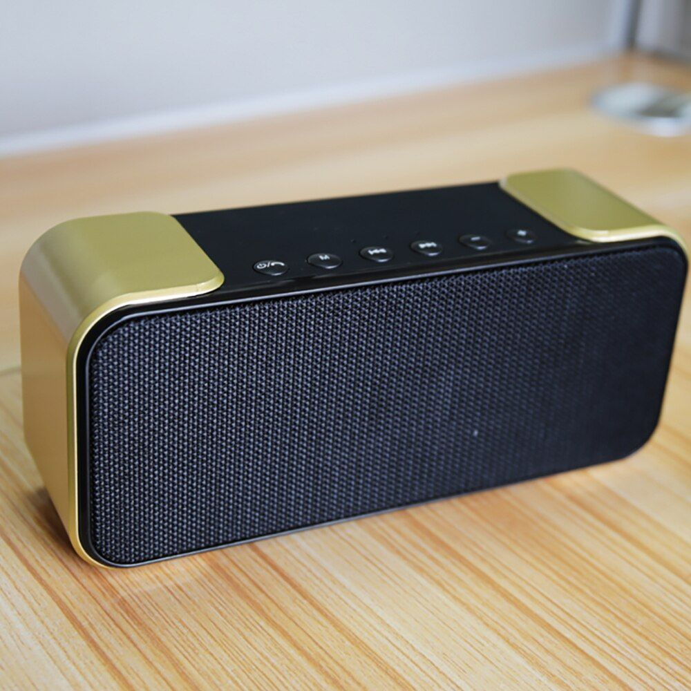 Lesozoh Soundbox Portable Wireless Bluetooth Speaker Dual Driver 3d Stereo Bold Bass Subwoofer Music Surround Support Tf Aux Usb Wireless Speakers Bluetooth Bluetooth Speaker Wireless Bluetooth