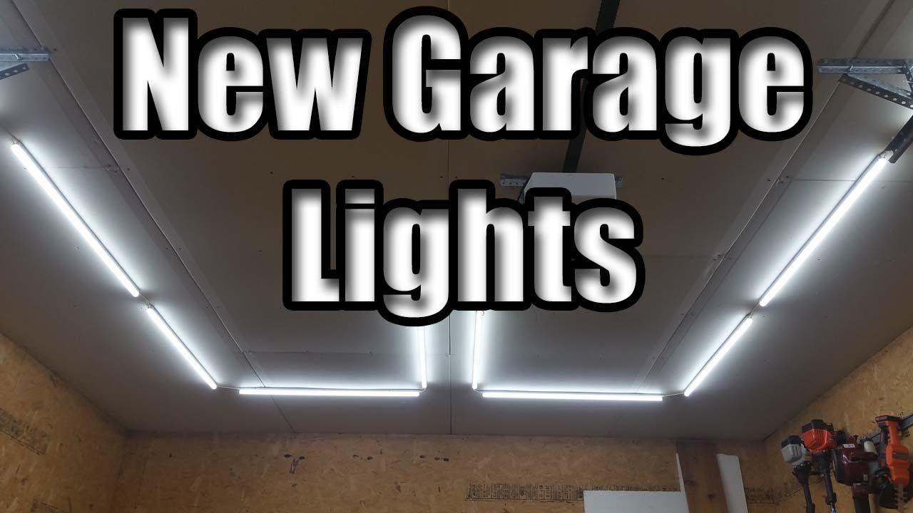 Diy Garage Led Light Install Barrina Led Light Review Led