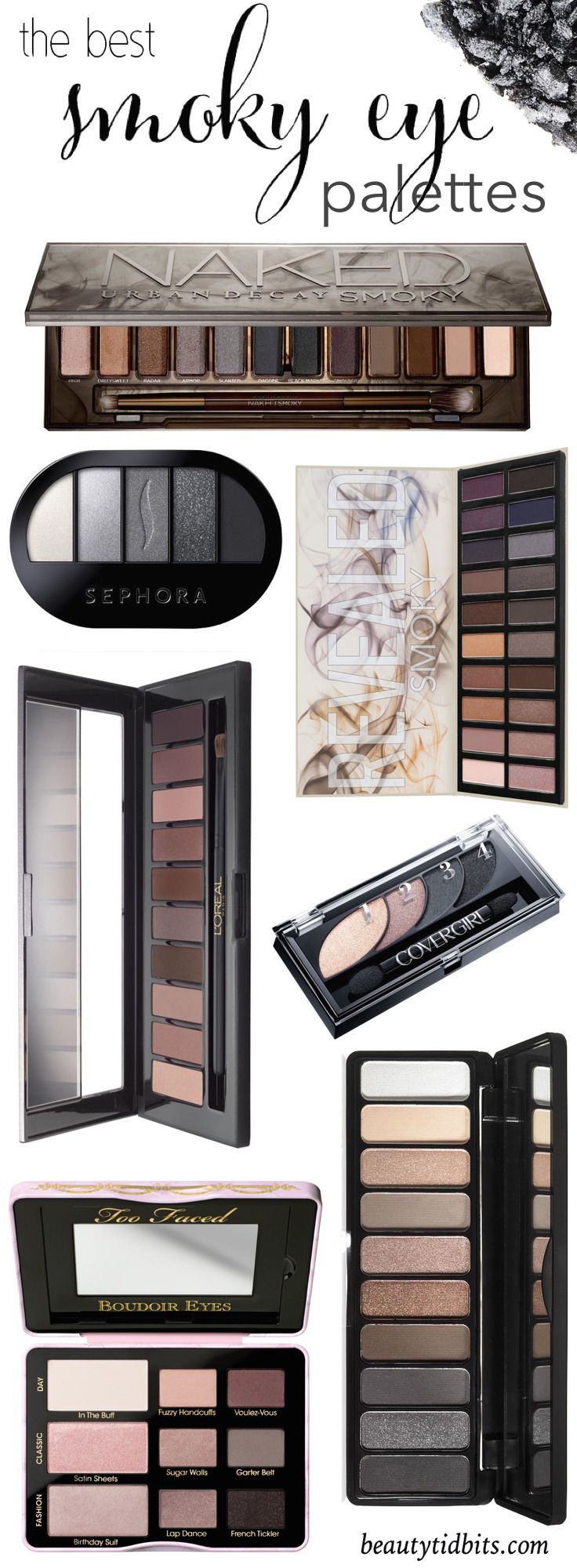The Best Smoky Eyeshadow Palettes For Every Budget Best Eyeshadow Palette Smoky Eyeshadow Eyeshadow