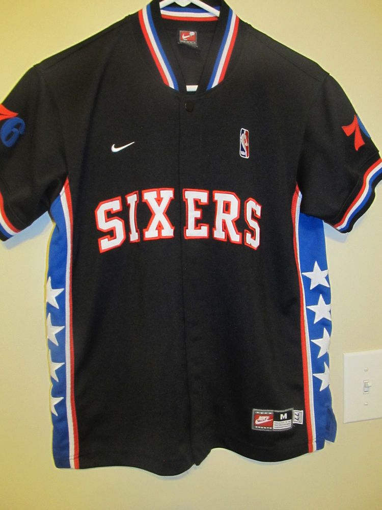 Philadelphia 76ers Retro Shooting jersey - Nike Youth Medium  Nike   Philadelphia76ers 1d6025329