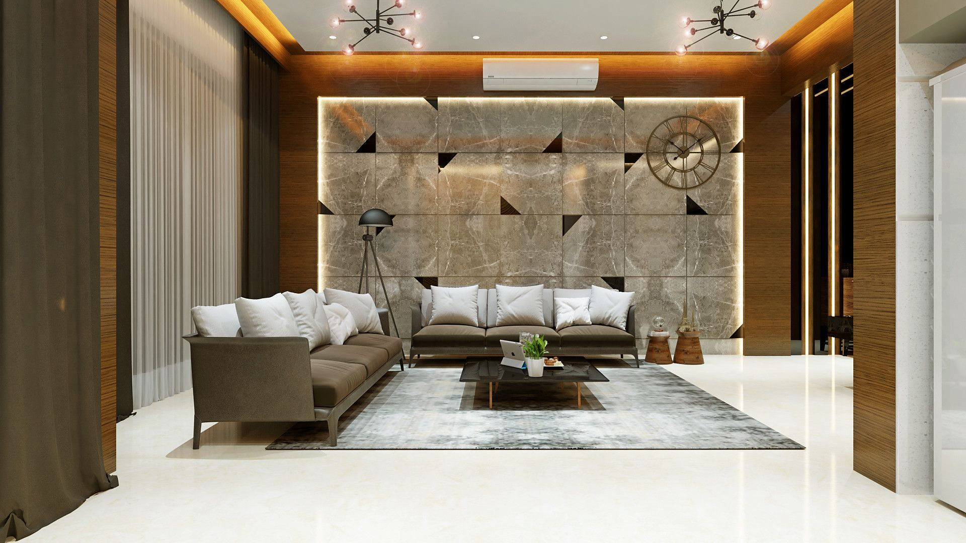 Image Result For Mix Modern Vintage Interior Design Living