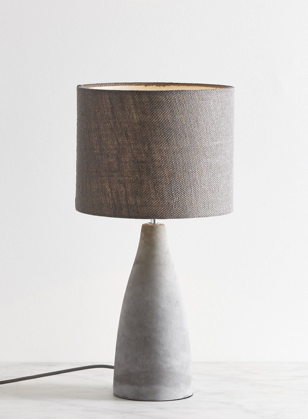 Attractive Fraser Grey Table Lamp