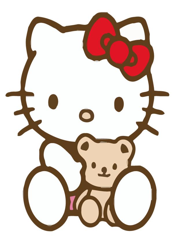 Hello kittyImagenes y dibujos para imprimir  hello kitty