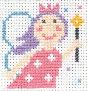 Princesa, punto de Cruz