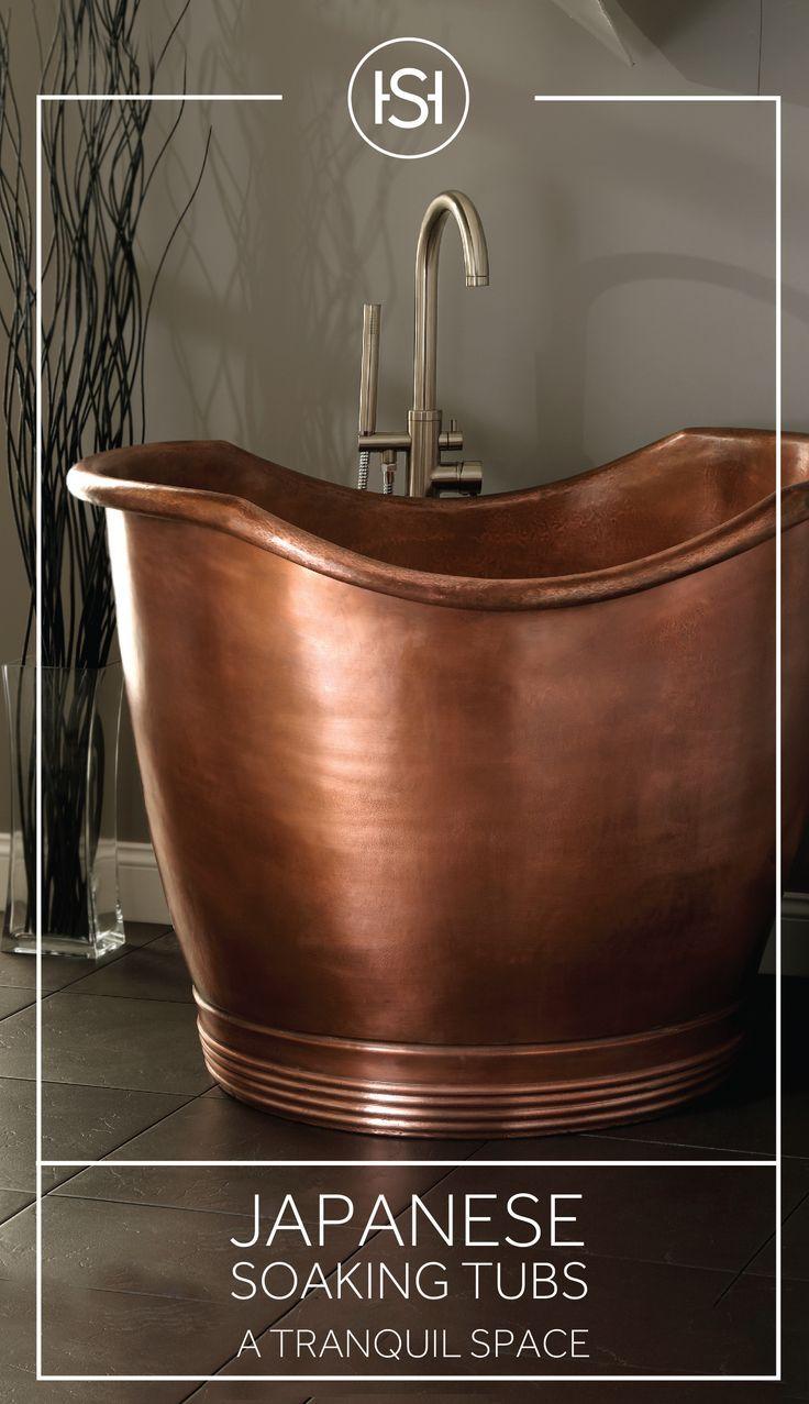 A japanese soaking tub strikes the perfect balance between