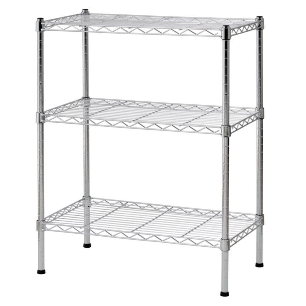 Kitchen shelving units  Small Wire Shelf Shelving Unit Storage Rack Steel Shelves Kitchen