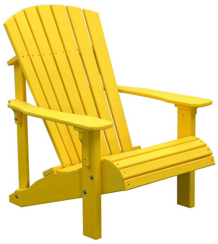 Delicieux Yellow Adirondack Chair
