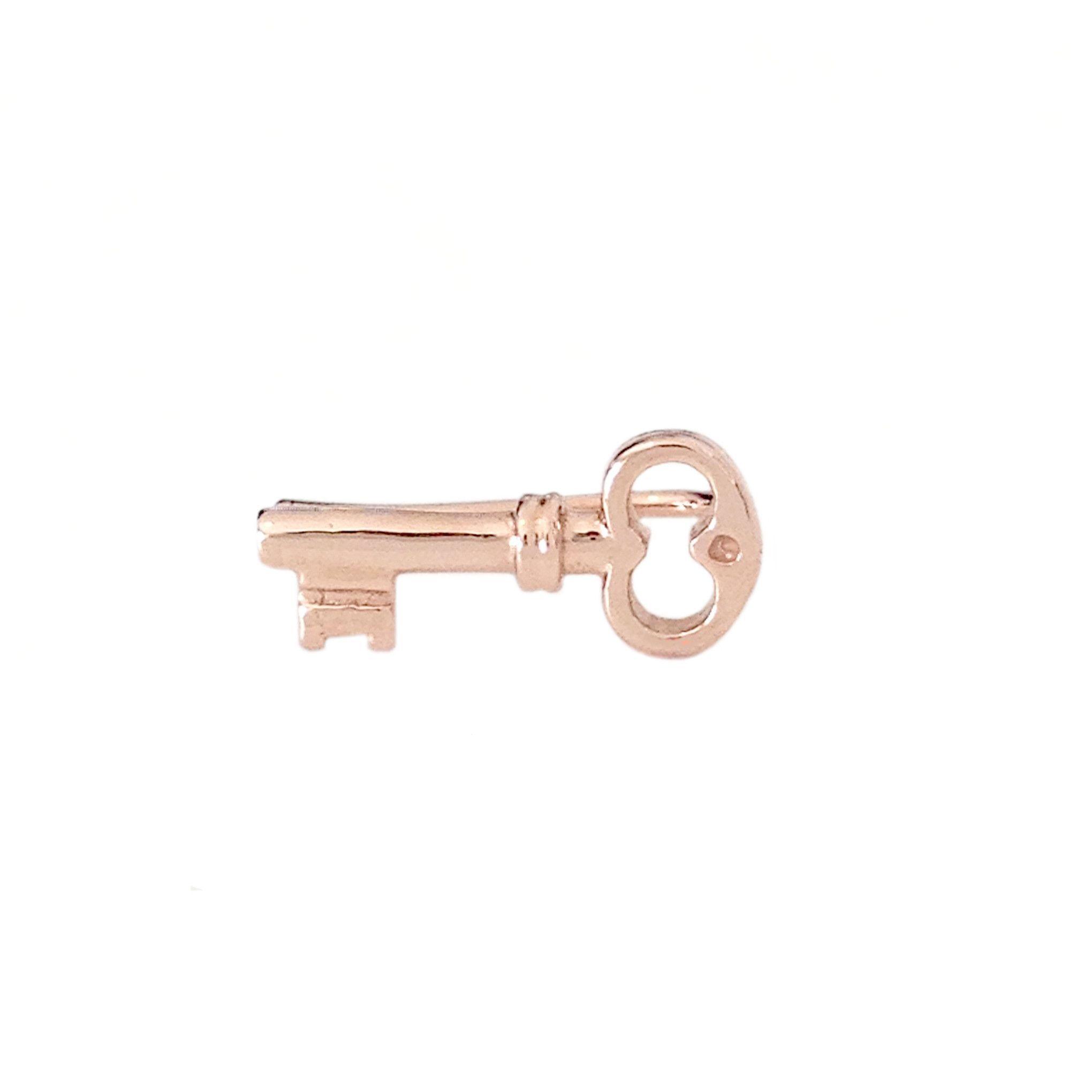 14K Gold XS Key Climber Earring