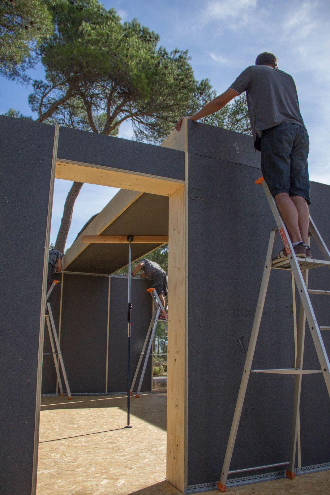 150m passive house popup house pas vne domy pinterest holzarbeiten und h uschen. Black Bedroom Furniture Sets. Home Design Ideas