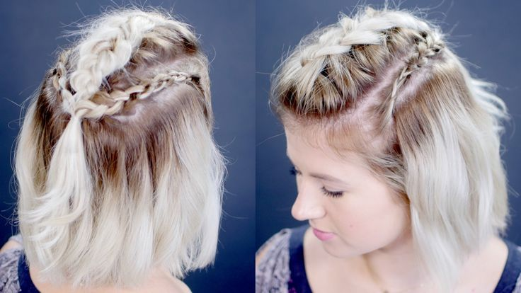 How To Dutch Braid Short Hair Hair Tutorials Braids For Short
