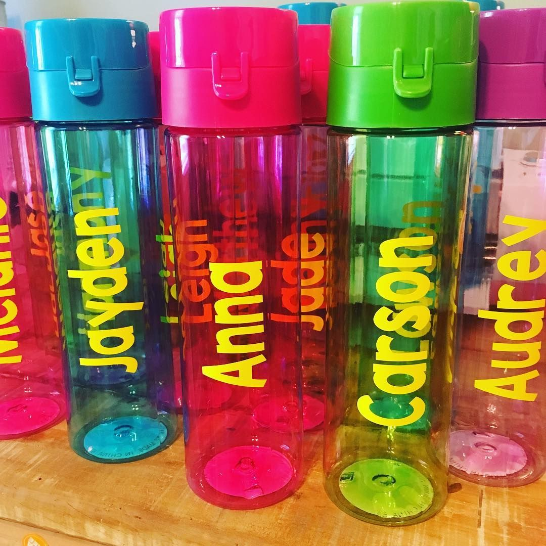Student End Of Year Gift Idea Water Bottles From Dollar Tree