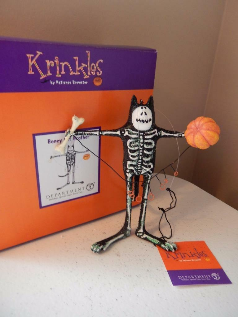 Department 56 (NEW) Krinkles Patience Brewster Boney Cat Brother FREE SHIPPING | eBay