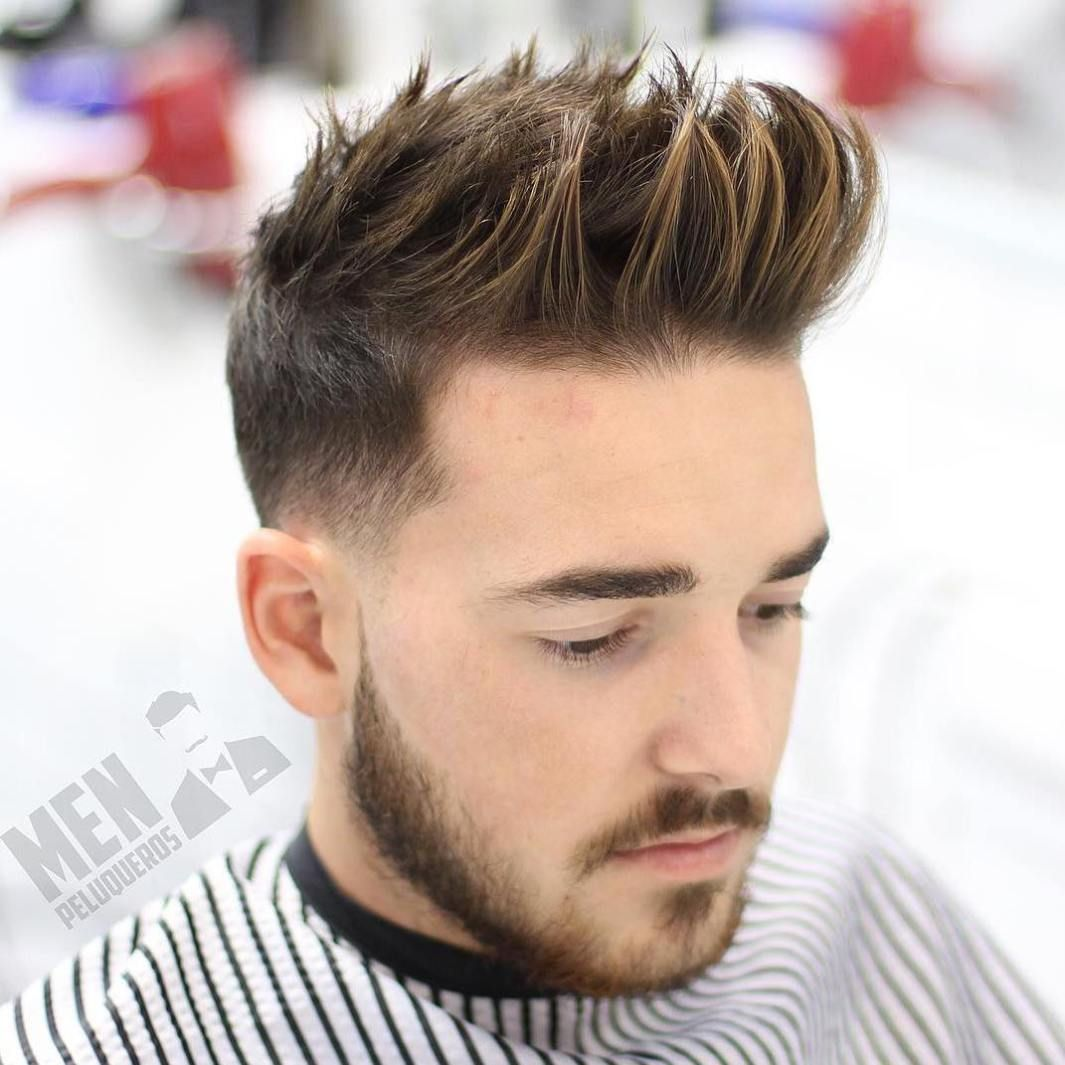 30 Spiky Hairstyles For Men In Modern Interpretation Spiky Hair Short Spiky Hairstyles Pompadour Hairstyle