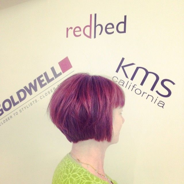Graduated Bob #RedhedLondon 7 Charlotte Place, London Call us for a free consultation 02074368099