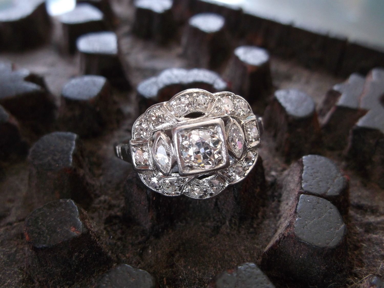 Walton's in Franklin, TN Edwardian jewelry, Art deco