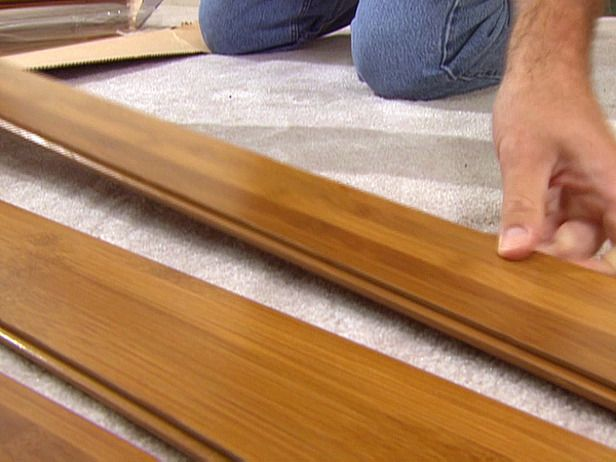 How To Install Bamboo Flooring Diy Network