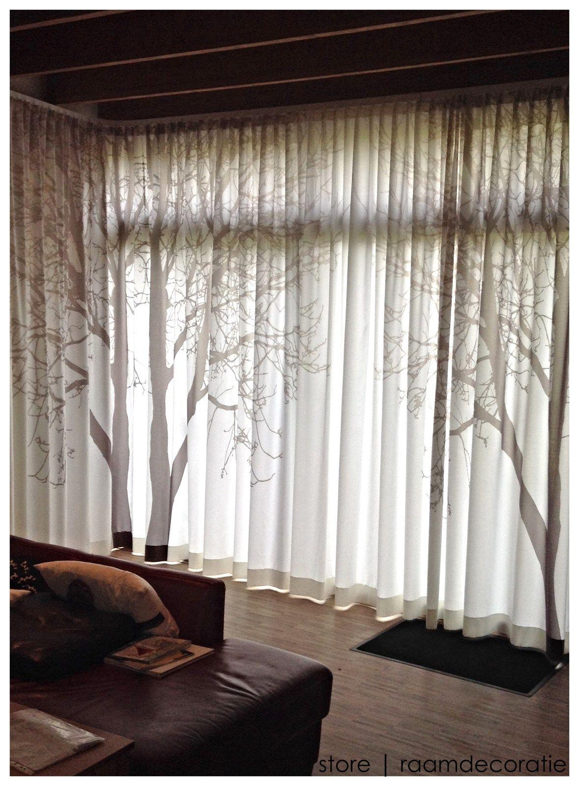 Realisatie gordijn Legend/Kendix #storeleuven #gordijn #interieur ...