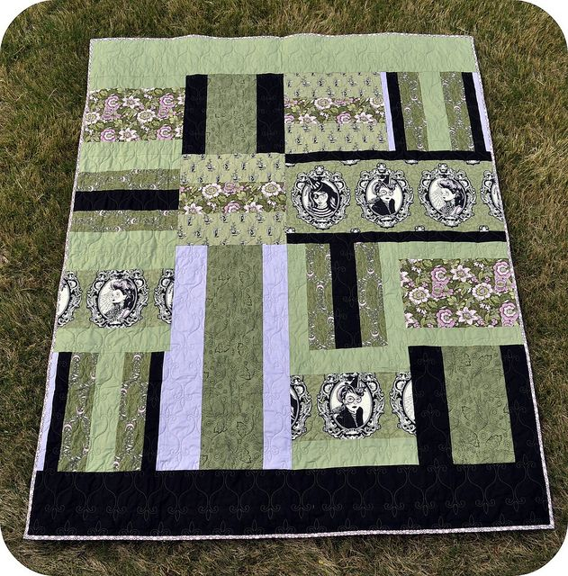 Double, Double, Toil & Trouble: A quilt pattern for twins!by the ... : quilt dad patterns - Adamdwight.com