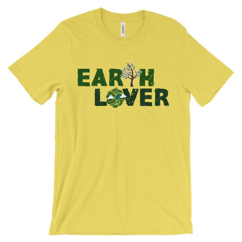 GREEN EARTH LOVER UNISEX T-SHIRT