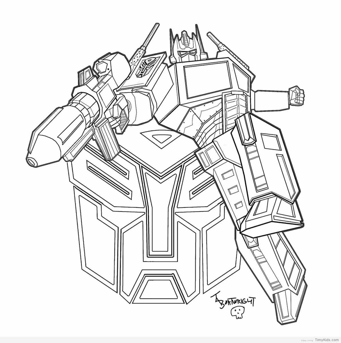 Fantástico Transformadores Rescatar Bots Para Imprimir Para Colorear ...
