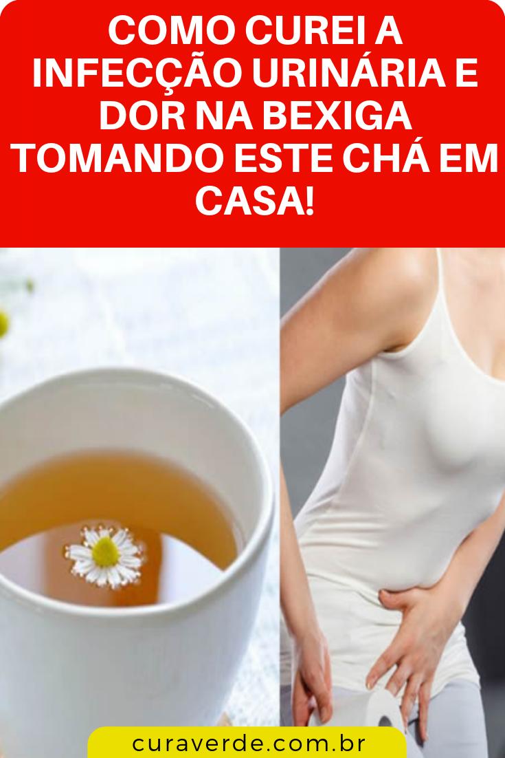 remédio para infecção na urina caseiro