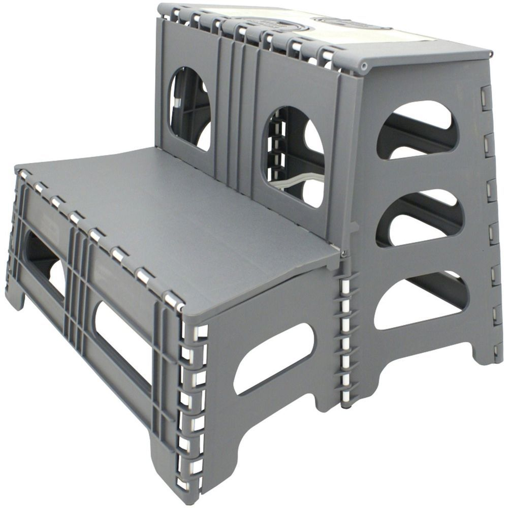 Details About Rv Double Stepstool Step Stool Stair Camper