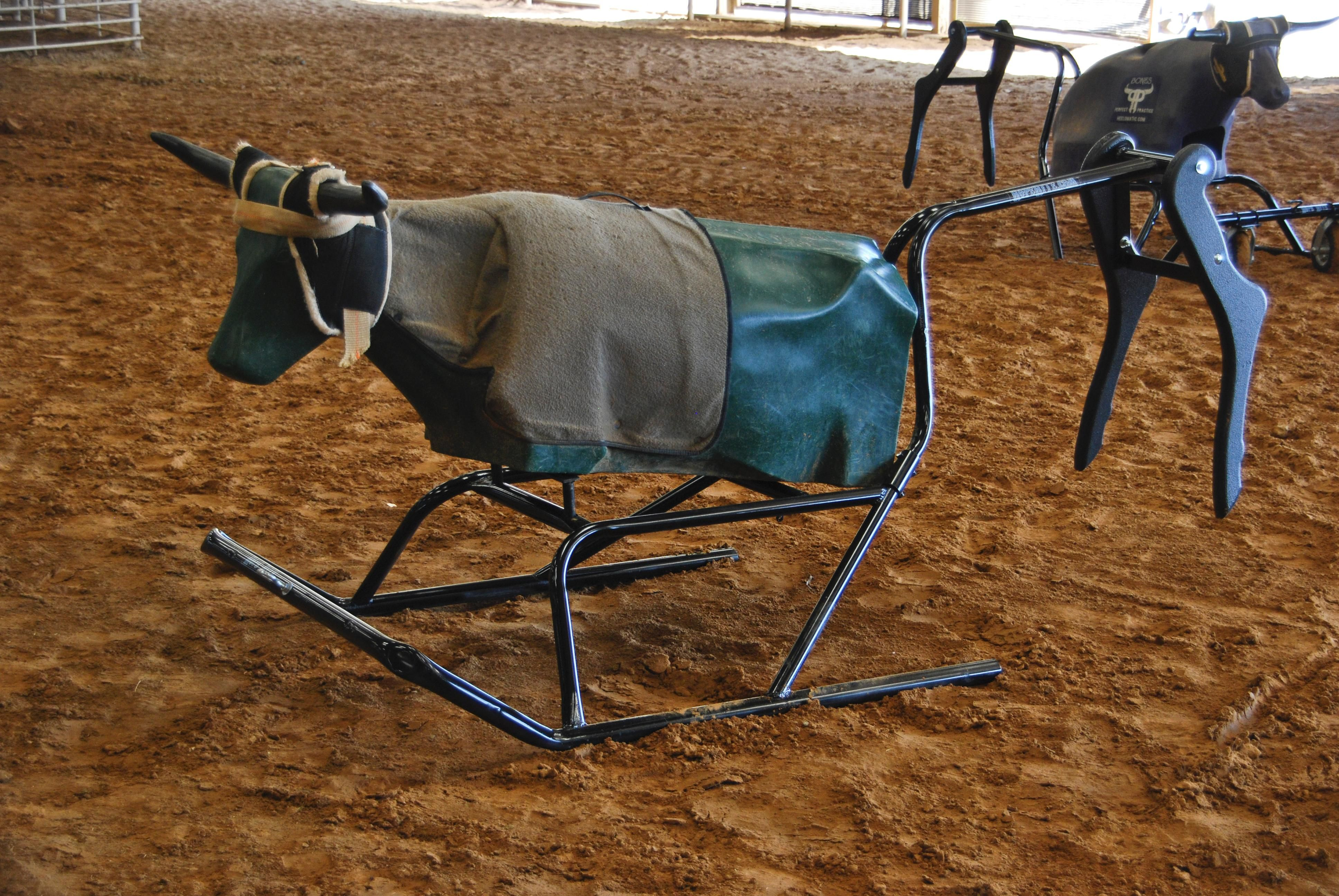 Rope Rite Sled Roping Dummy Cowboy Cool Sled Rodeo