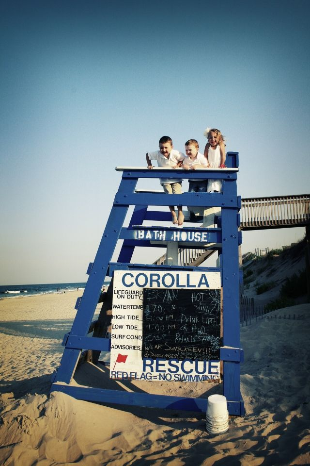 Corolla Ocean Rescue Lifeguard Stand Outer Banks Of North