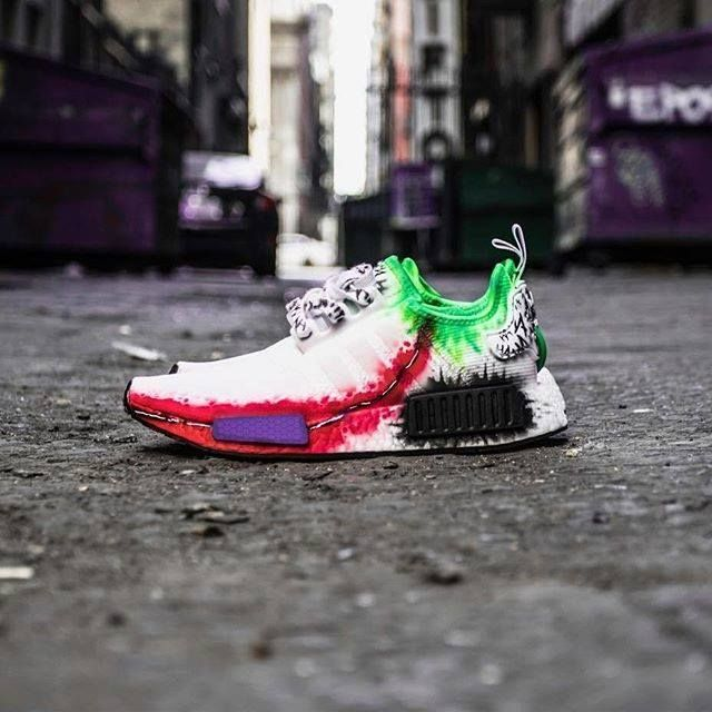 c915e1393b83b Rate this Joker inspired NMD from 1-10..