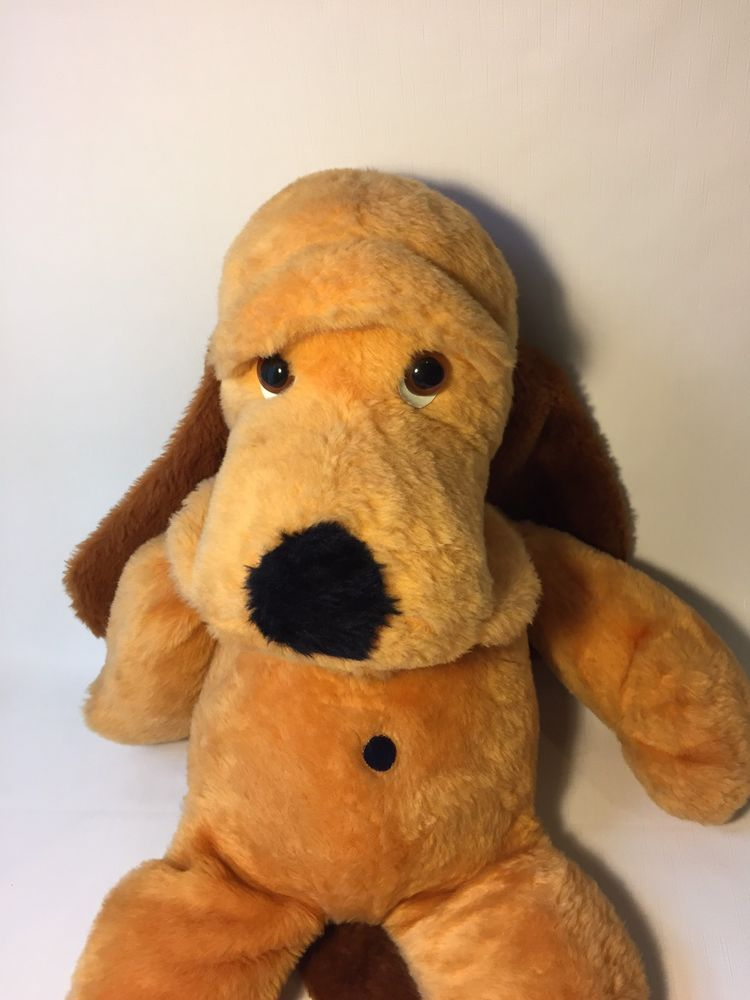 Rare Vintage 30 Doogan Plush Doll Jumbo Animal Fair Henry Dog