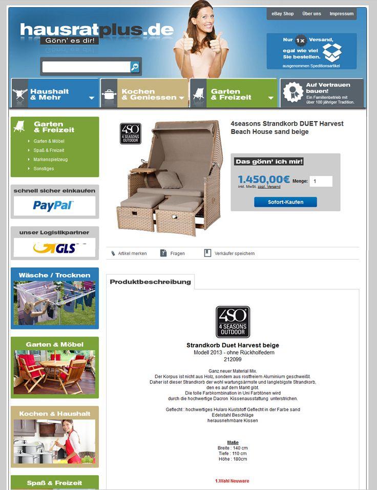 Kunde Hinrich Kiel Design Ebay Template Ebay Hausrat Shops