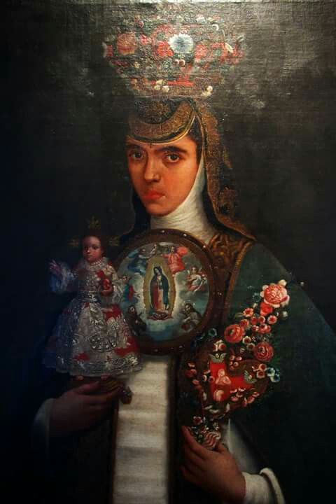 Sor María Antonia de la Purísima Concepción, obra de las #ColeccionesDelVirreinato viaja al Bowers Museum, Santa Ana, California. La podrás apreciar a partir del 8 de octubre en la exposición Virgin of Guadalupe, Queen of Mexico, Empress of the Americas. #QueNoSeTePase