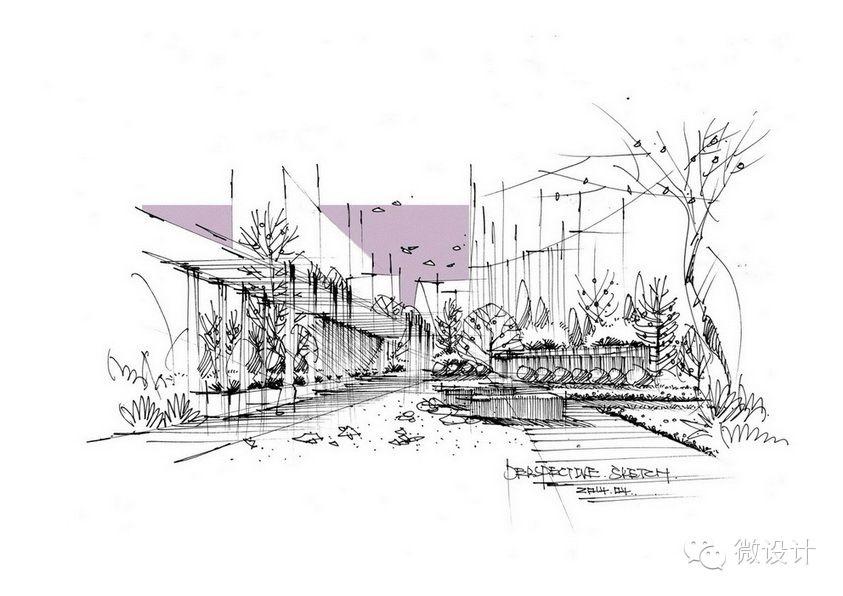 Sketch 14 Landscape Architecture Graphics Architecture Sketch