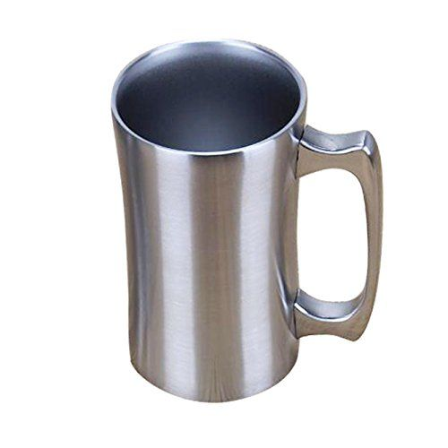 Insulated Mugs, OrgMemory Stainless Steel Tumbler, Coffee