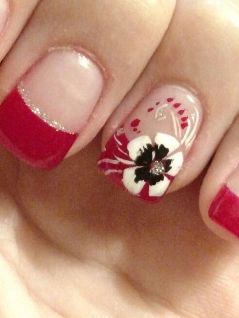 JK Nails: Asheboro. Beautiful color and design. | Nails | Pinterest ...