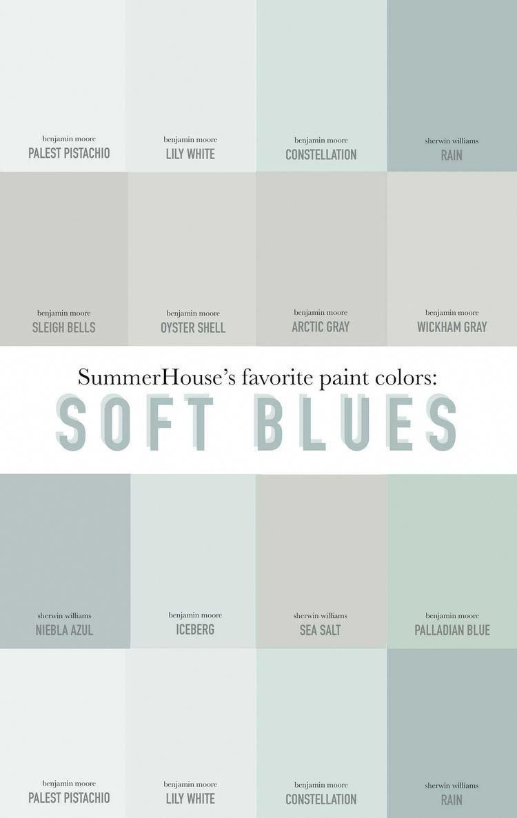 Favorite Blue Gray Color Choices By Sherwin Williams