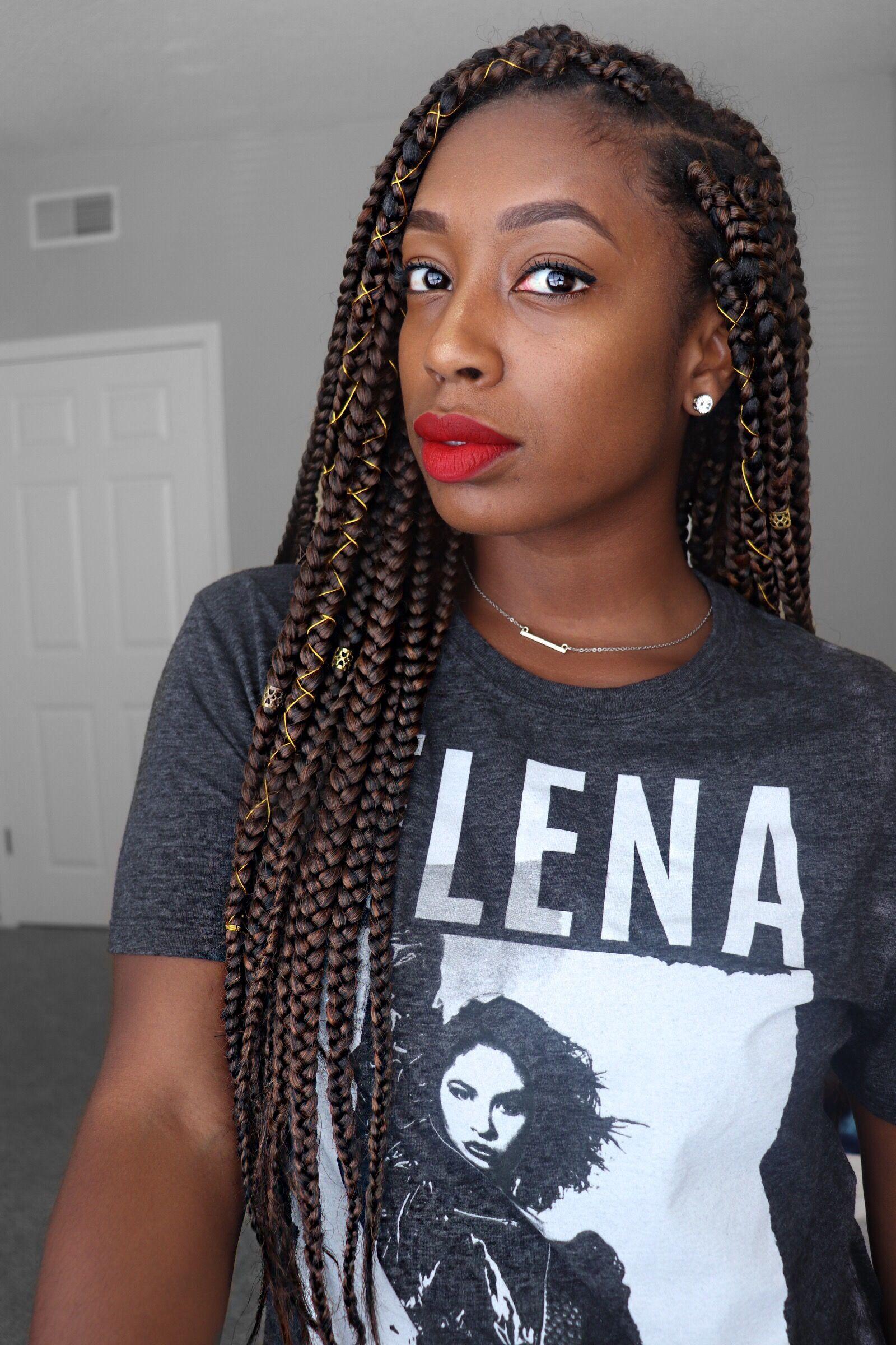 Box braids color m1b30 box braids hairstyles african