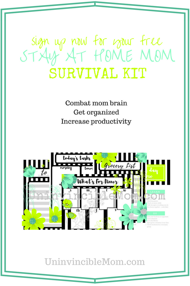 Get your FREE Stay at Home Mom Survival Kit for signing up with ...