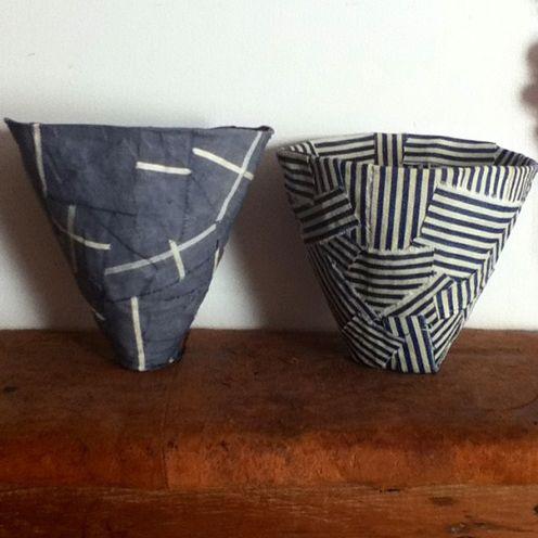 Fabric mâché by artist Brydie Brown.