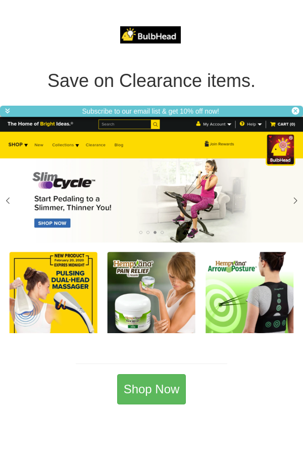 Best deals and coupons for BulbHead in 2020 Better life