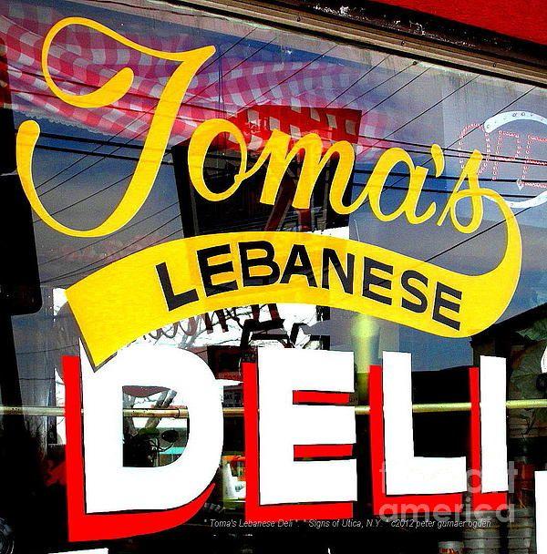 Toma's Lebanese Deli.