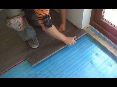 Installing Laminate Wood Flooring Close To The Patio Door Youtube Patio Doors French Doors Wood French Doors