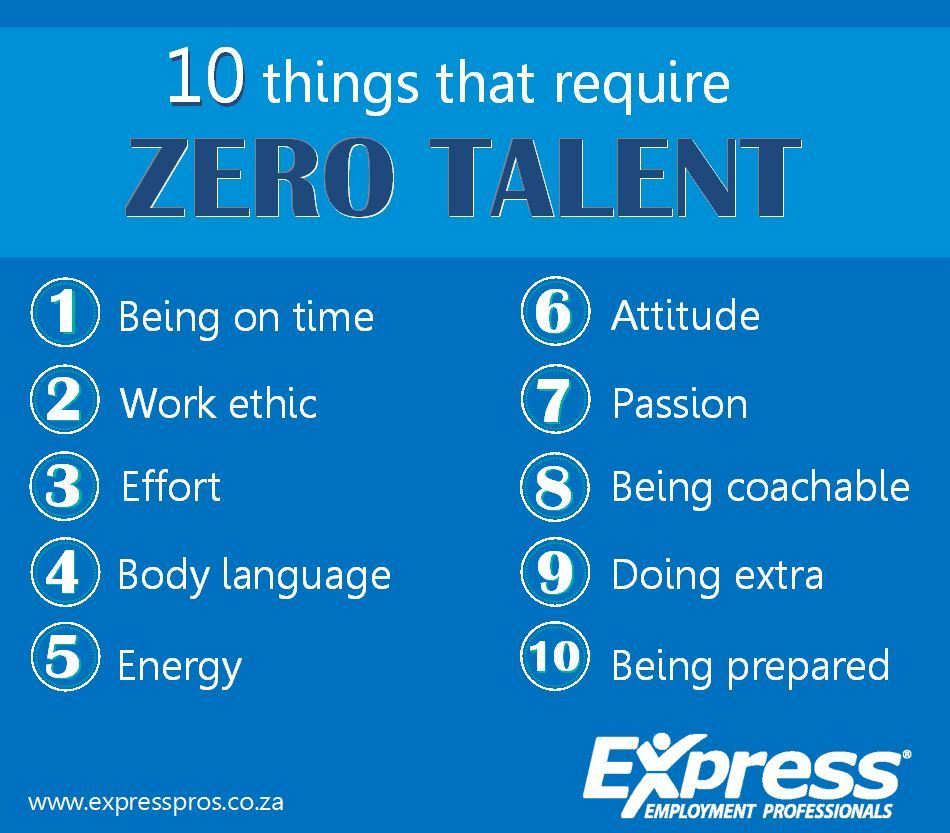 10 Things That Require Zero Talent Expressions