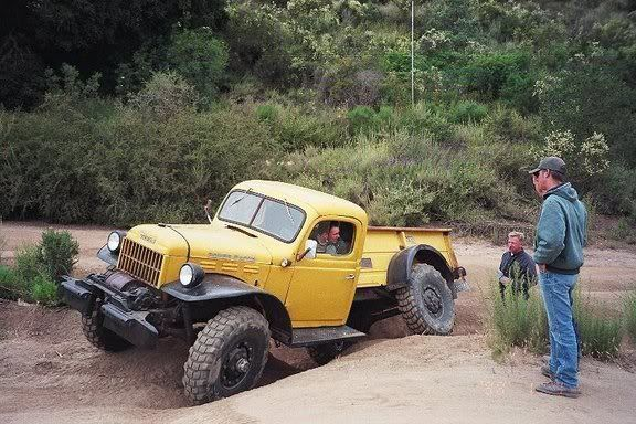 """1958 Dodge Power Wagon W300 """"Willock Swivel-Frame"""""""