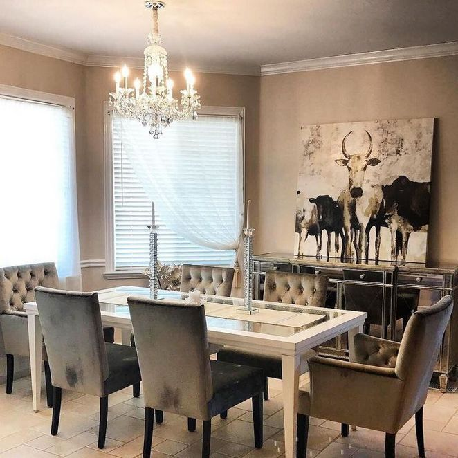 37 Top Rustic Glam Dining Room Choices Decoryourhomes Com