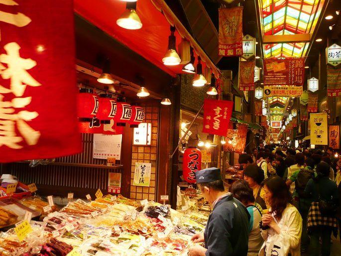 錦市場で食べ歩き・ランチおすすめ~お腹を空かせて行きたい!京の台所~