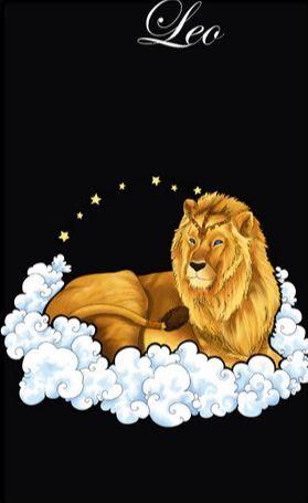 Открытки знаки зодиаков лев
