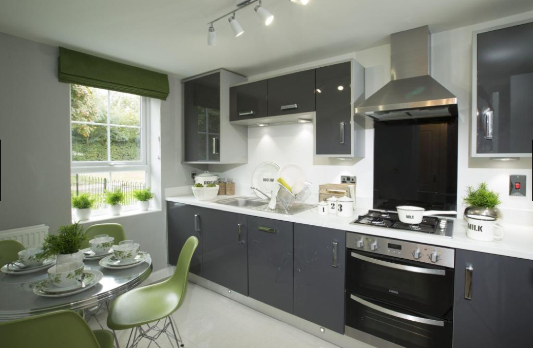 Interior Designed Kitchens Barratt Homes Interior Designed Modern Small Kitchen Dining Room