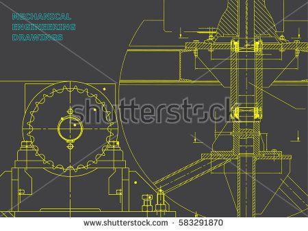 Blueprints mechanical construction engineering illustrations blueprints mechanical construction engineering illustrations technical design banner gray bubushonok malvernweather Image collections