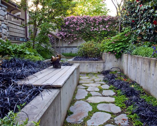 79 ideas to build a retaining wall in the garden - slope protection